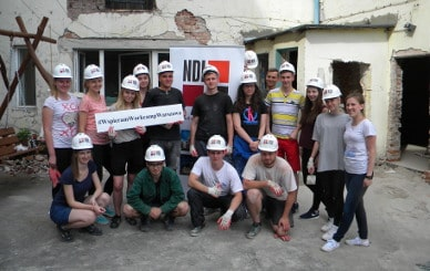 NDI – the Prime Partner in the Workcamp project